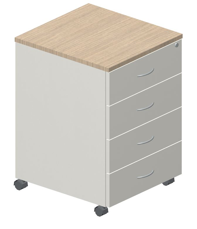 Academy 2 Drawer 1 File Mobile