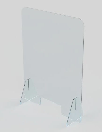 BUDGET PROTECTIVE PERSPEX SCREEN