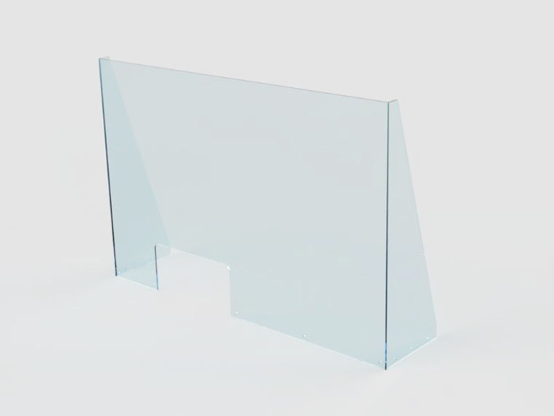 PROTECTIVE PERSPEX SCREEN - TYPE A