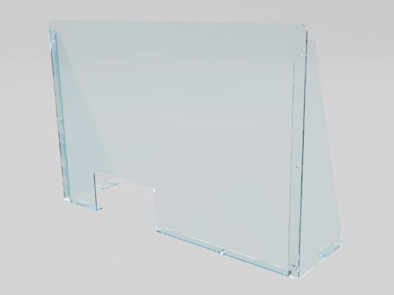 PROTECTIVE PERSPEX SCREEN - TYPE B