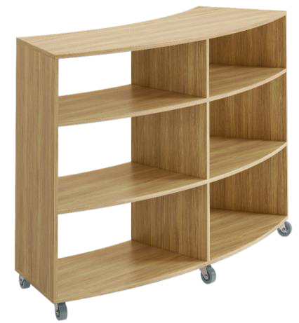 SEBEL CURVED BOOKCASES