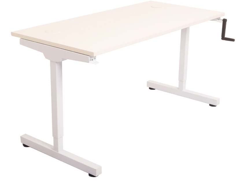 RAPID MANUAL HEIGHT ADJUSTABLE DESK